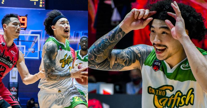 Loạt khoảnh khắc của Tâm Đinh khiến fans cũng phải bật cười trong trận gặp Thang Long Warriors