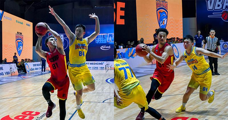 Loạt khoảnh khắc của JuZang trong trận chiến gặp Nha Trang Dolphins