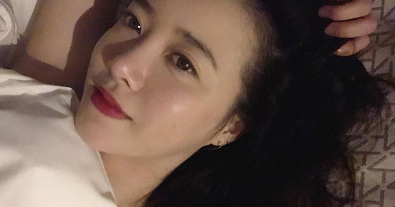 Goo Hye Sun đăng ảnh giường chiếu, Knet cho là đang 'gợi tình'