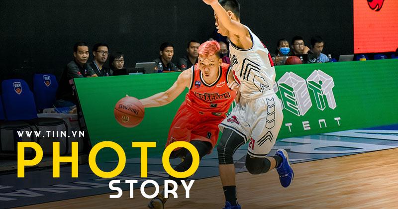Photo Story: Cần hiệp phụ phân định, Danang Dragons - Thang Long Warriors biến VBA Arena thành chảo lửa