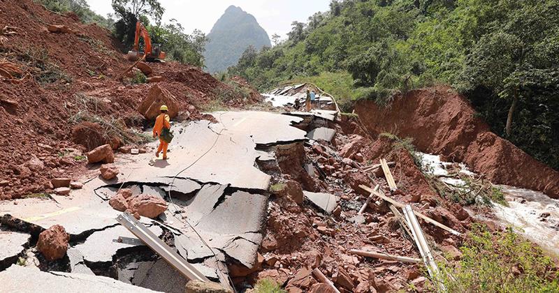 Quảng Bình: Tìm thấy thi thể hai nạn nhân vụ sạt lở đất ở rừng Thác Voi