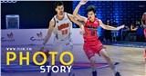Photo Story: Danang Dragons khiến Thang Long Warriors tụt hạng sau trận tái đấu