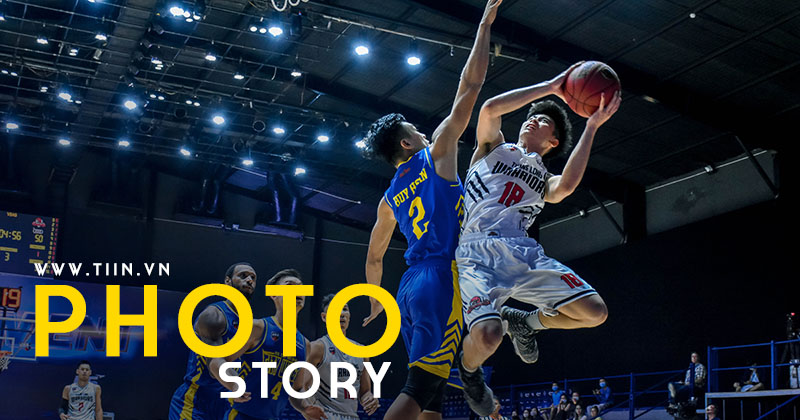 Photo Story: Thi đấu thoải mái, Thang Long Warriors thắng đậm