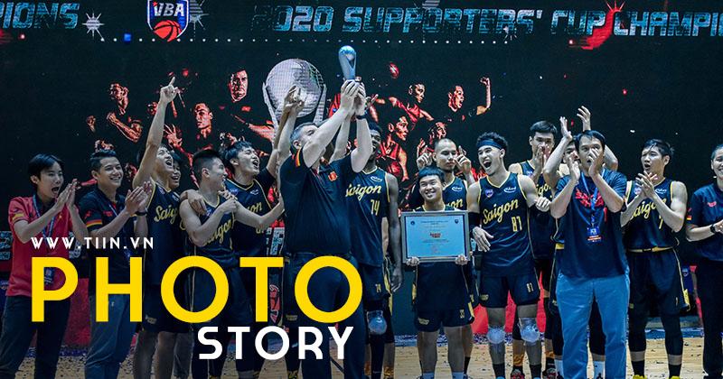 Photo Story: Dẫn đầu bảng vòng loại, Saigon Heat ẵm Supporters' Cup từ VBA 2020