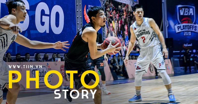 Photo Story: Thang Long Warriors chốt suất vào Finals VBA 2020