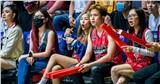 Dàn sao trẻ đến cổ vũ Thang Long Warriors trước thềm Chung kết VBA 2020