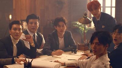 1 ngày ra mắt, ca khúc kỷ niệm 12 năm Super Junior đứng vị trí khiêm tốn trên BXH