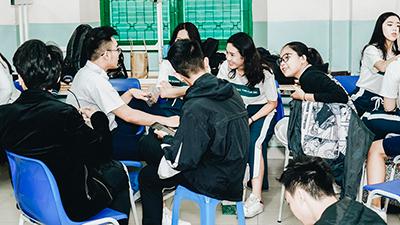 Đột nhập phòng văn nghệ của học sinh Lê Quý Đôn trong ngày bế giảng