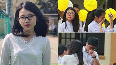 Nữ sinh giải Nhất Quốc gia Văn và bài viết lấy nước mắt hàng ngàn học sinh trường Phan