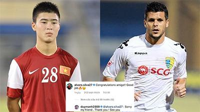 Cầu thủ của Philippines chúc mừng chiến thắng tuyển Việt Nam, nhưng bình luận của Duy Mạnh mới gây chú ý