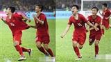 Loạt ảnh hài hước về Phan Văn Đức - cầu thủ 'dành cả thanh xuân' để chạy theo bám áo Đức Huy