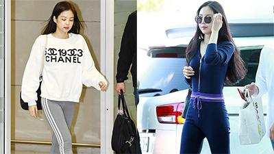 Netizen khẳng địnhJennie 'không có cửa' để tranh ngôi'nữ hoàng legging' vớiNaeun
