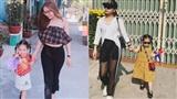 Mặc sexy thì bị chê phản cảm, bạn gái Quang Hải đáp trả ẩn ý bằng cách 'mặc áo của bố' cho kín đáo