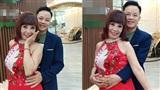 Cô dâu 62 tuổi và gu thời trang 'tắc kè hoa', lộ nội y khi livestream