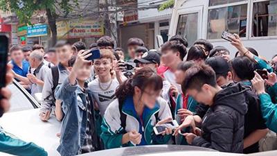 Sở Giáo dục tỉnh Yên Bái xác minh việc có hay không trường học mời Khá Bảnh giao lưu cùng học sinh