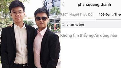 'Nối gót' anh trai, Phan Hoàng xoá tài khoản Facebook, cả Instagram cũng 'biến mất' luôn