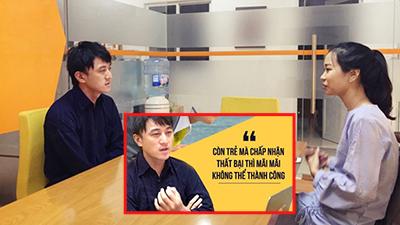 Chàng trai Nhật sang VN kêu gọi thành công 12 tỷ đồng: 'Còn trẻ mà chấp nhận thất bại thì chẳng bao giờ thành công'