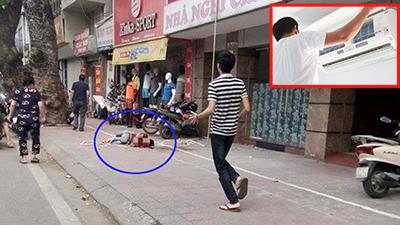 Hà Nội: Thanh niên rơi từ tầng 4 xuống đất tử vong khi sửa điều hòa cho nhà nghỉ