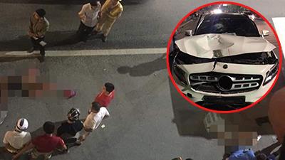 Lời khai của tài xế Mercedes biển 'thất bát' tông tử vong 2 phụ nữ ở hầm Kim Liên