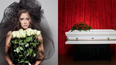 Cô dâu tổ chức đám cưới chung với đám tang của dì để tiết kiệm chi phí