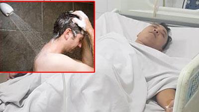 Lại chuyện tắm đêm: Vợ 'chết điếng' phát hiện chồng co giật giữa sàn vì về muộn, tắm khuya lại còn nằm điều hòa