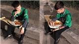 Nhìn ảnh ai cũng nghĩ shipper ăn sang, nhưng sự thật đằng sau là một vấn nạn của nghề giao hàng: Bị khách bùng!