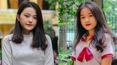 Sân trường THPT Trưng Vương ngày lễ trưởng thành: Nhìn đâu cũng thấp thoáng girl xinh