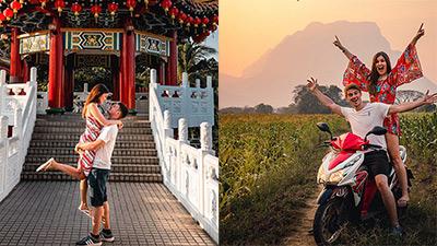 Nếu chán công việc văn phòng, liệu bạn có đủ can đảm để 'bỏ tất cả mà đi' như cặp đôi travel blogger này?
