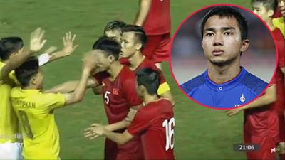 'Messi Thái Lan' viết tâm thư bằng tiếng Việt xin lỗi Văn Hậu và CĐV Việt Nam sau status 'đá đểu'