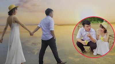 Chuyện tình chàng 1m50, nàng 1m70 và bộ ảnh cưới khiến nhiếp ảnh 'đau đầu'