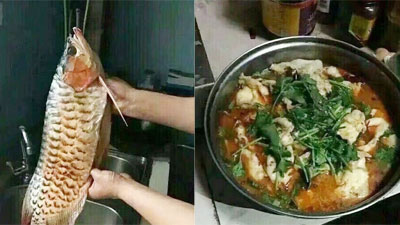 Lần đầu về ra mắt nhà bạn gái, chàng trai trổ tài nấu nướng nhưng ai cũng hỏi 'chia tay chưa' khi thấy nguyên liệu