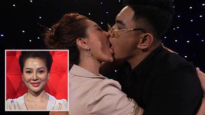 'Hot girl' ngực khủng Mon 2K bị chỉ trích vì hôn 'ngấu nghiến' trai đẹp trên truyền hình