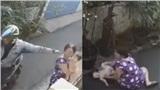 Phẫn nộ truy tìm danh tính tên cướp giật dây chuyền khiến người phụ nữ bế con nhỏ ngã đập đầu xuống đất