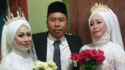 Đám cưới 1 chú rể 2 cô dâu gây sốc dân mạng và sự thật bất ngờ phía sau