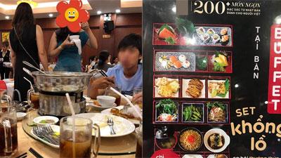 Đi 4 người nhưng chỉ trả tiền 2 suất buffet, mẹ trẻ Hà Nội bị nhà hàng sushi tố ngược rằng 'lách luật' để cho con ăn ké?