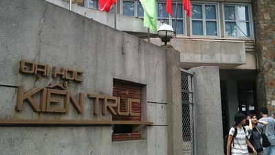 ĐH Kiến trúc TPHCM, ĐH Tài nguyên Môi trường TPHCM công bố điểm chuẩn
