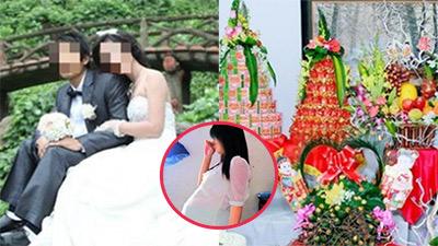 Đúng ngày cưới, cô gái uất nghẹn biết chồng làm người khác có bầu 5 tháng, nhà gái hủy luôn đám cưới 13 tráp cùng phong bì 10 triệu