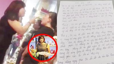 Chủ shop giày hành hung nữ sinh: Viết thư tay xin lỗi, vừa mở facebook đã vội khóa vì dân mạng công kích?