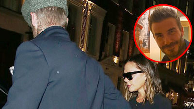 Giữa lùm xùm ly hôn, vợ chồng Beckham - Victoria tình tứ dẫn nhau đi hẹn hò sang chảnh