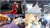 Những đám cưới 'khủng' của hotgirl - rich kid Việt: Người rước dâu với dàn siêu xe hơn 100 tỷ, người đem cả 'lâu đài' vào hôn lễ