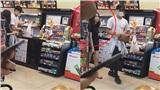 Sau bao ngày yên ắng, Dũng thủ môn để lộ hình ảnh đi siêu thị cùng tình mới xinh đẹp?