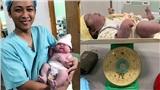Dân mạng chúc mừng người mẹ Nghệ An sinh thường bé gái nặng 5,5 kg đúng ngày 20/10