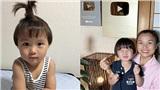 Chẳng kém gì mẹ Quỳnh Trần, bé Sa cũng sở hữu kênh YouTube có lượt theo dõi 'khủng' với nhiều clip siêu đáng yêu