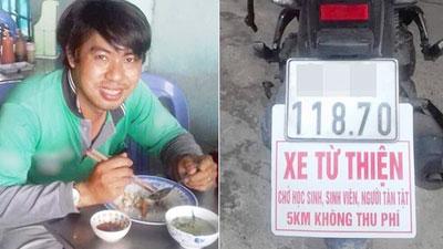 Cư dân mạng xúc động với chuyện anh xe ôm Sài Gòn bị chửi là 'hâm' khi chạy xe miễn phí cho sinh viên, người tàn tật