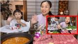 Cười lăn với tiết mục 'phá game' của nhóc Sa trong clip mới nhất nếm thử lẩu bò cay của Quỳnh Trần JP