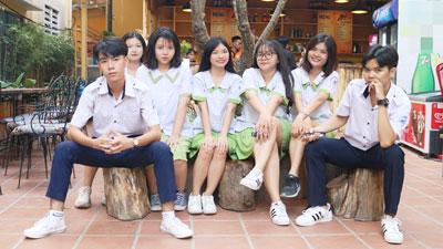 Lạc vào căng tin THPT Nguyễn Thị Diệu chẳng muốn về: Vừa có góc 'sống ảo' cực chill, vừa 'sống xanh' bảo vệ môi trường