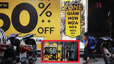 Black Friday ở Hà Nội: Loạt shop giảm giá mạnh vẫn vắng tanh như chùa bà Đanh