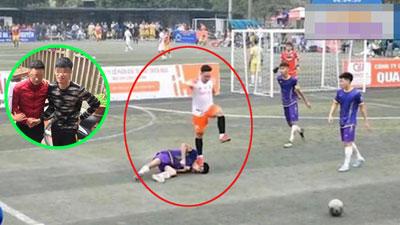 Thẳng chân đạp lên mặt đối thủ đến co giật bất tỉnh: Cầu thủ Thái Nguyên bị cấm thi đấu 2 mùa giải