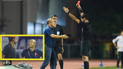 Thầy Park lên tiếng về tấm thẻ đỏ ngang trái khi cố gắng bảo vệ học trò đến cùng: 'Tôi đã mất bình tĩnh'