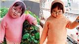'Cưng xỉu' trước loạt biểu cảm phụng phịu siêu dễ thương của bé gái 2 tuổi tại Đà Lạt
